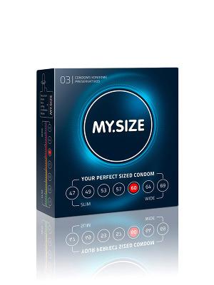 3 Stück MY.SIZE Kondome - Größe 60