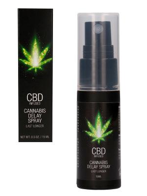 CBD Cannabis Delay Spray - 15 ml