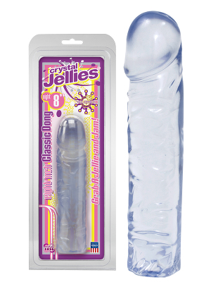 Crystal Jellies Classic 8 inch Clear Jelly