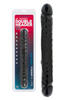 Double Header 12 inch - Farbe schwarz