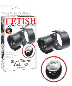 Fetish Fantasy - Shock Therapy Cock Cage