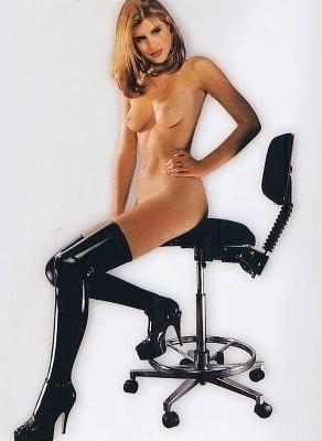 Latex Stockings  Black