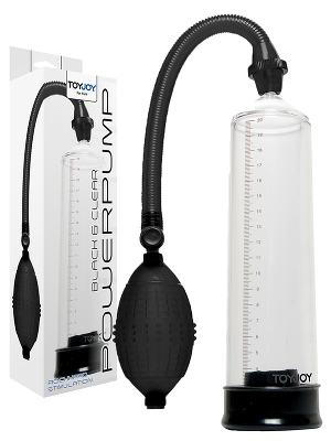 Powerpump Rock Hard Black/Clear