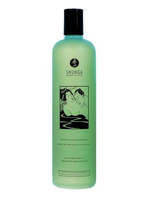 Shunga - Bad & Duschgel Sensual Mint 500 ml
