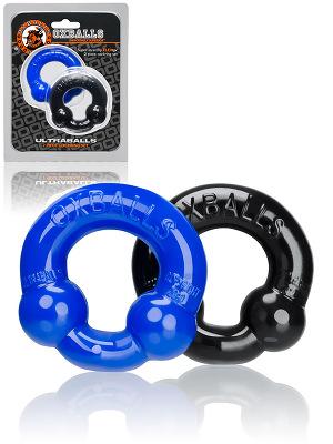 Ultraballs 2-Pack Cockringe Schwarz und Blau