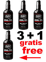3 + 1 PUSH Anal Gel Premium Edition 250 ml