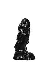 All Black Dildo 25