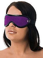 Augenmaske Leder