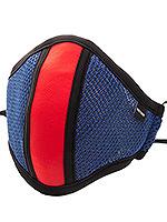 Barcode Berlin - Maske mit Filter - Blau/Rot