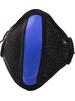 Barcode Berlin - Maske mit Filter - Schwarz/Blau