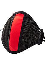 Barcode Berlin - Schutzmaske mit Filter - Schwarz/Rot