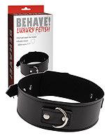 Behave! Luxury Fetish - Halsband Midnight Collar