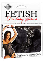 Fetish Fantasy - Beginners Furry Cuffs - Black