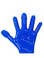 Finger Fucker Handschuh - Blau