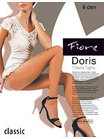 Fiore - Glatte Strumpfhose Doris Schwarz