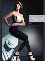 Fiore - Leggings Anette Schwarz