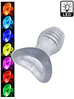 Glowhole LED leuchtender Tunnel Plug - Small