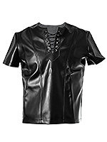 Lederlook Shirt Dark Age - Small