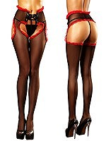Lolitta - Lust Stockings Red