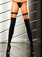 Lolitta - Wetlook Stockings Extraordinary Stocking