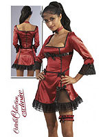 Minikleid-Set Saloon