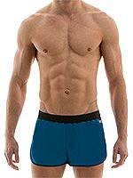 Modus Vivendi - Elegant Jogging Cut Swim Shorts - Cobalt/Schwarz