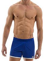 Modus Vivendi - Sporty Shorts - Blau