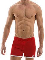 Modus Vivendi - Sporty Shorts - Rot