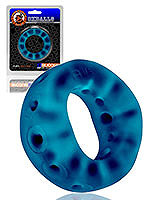 Oxballs Air-Hole Cockring - Space Blue