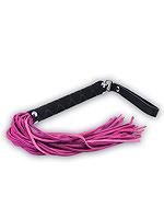 Peitsche Pink Leder 45 cm