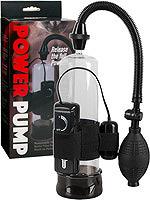 Power Pump mit Bullet Vibe