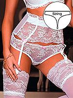 Roza - String Ambre Weiß