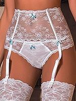 Roza - String Fifi Weiß
