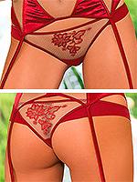 Roza - String Mehendi Rot