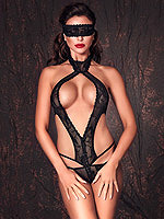 Sexy schwarzer Body ouvert Alexandra von Anais Lingerie