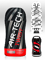 Tenga - Air-Tech Twist Reusable Vacuum Cup Masturbator - Tickle
