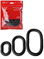 Xplay Gear - Wrap Cockring 3-Pack Dick